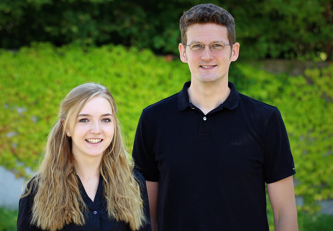 Melanie Haslinger und Dirk Schlarmann